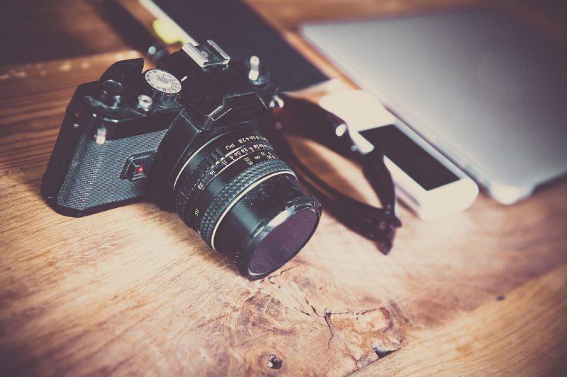 מצלמה שחורה ואיכותית
